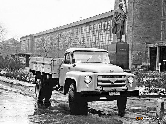 Pictures of ZiL 130 (I) 1956 (640 x 480)