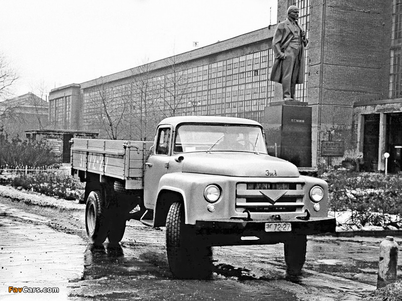 Pictures of ZiL 130 (I) 1956 (800 x 600)