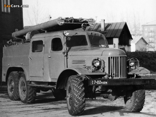 Pictures of PMZ-27 na shassi ZiL 157 1959–64 (640 x 480)