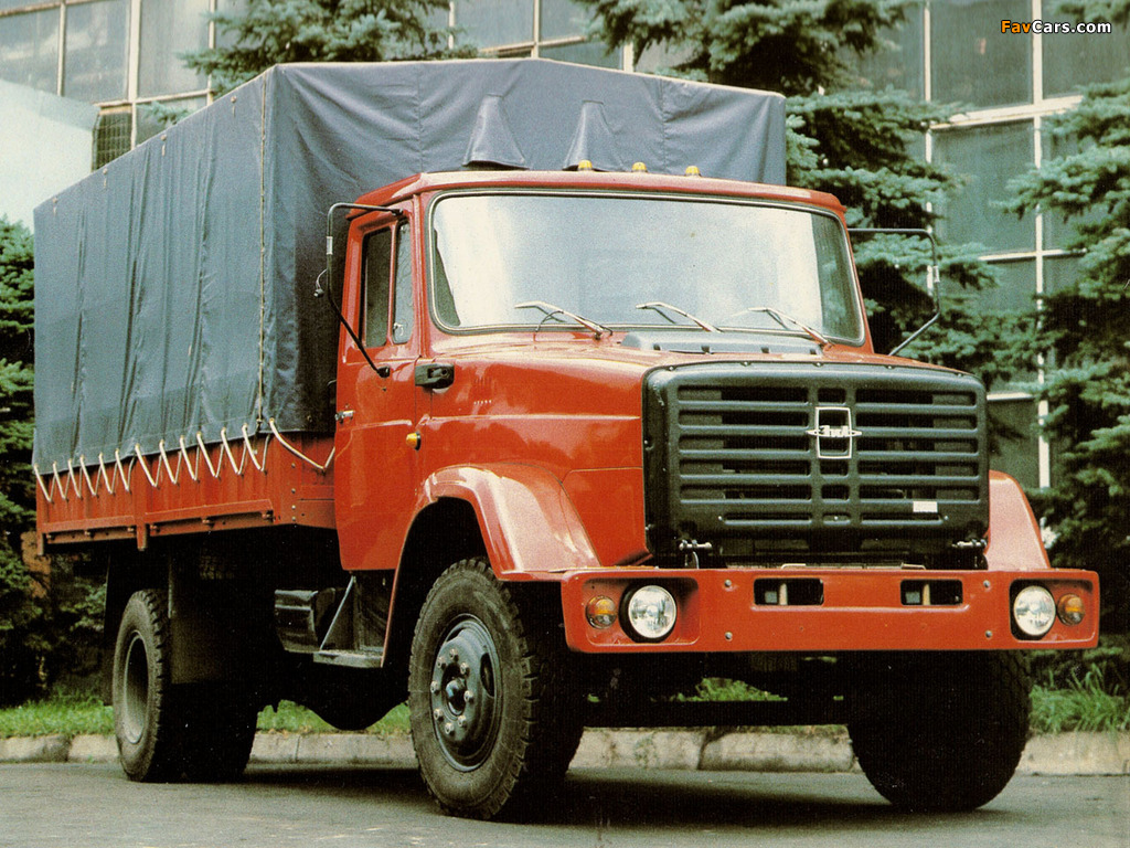 ZiL 4331 1985 pictures (1024 x 768)