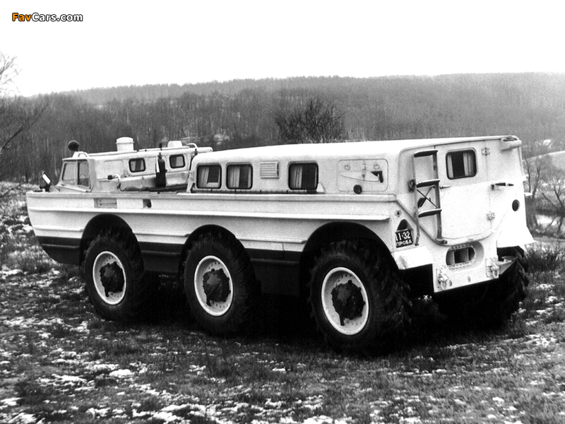 Photos of ZiL PEU-1 1972–79 (800 x 600)