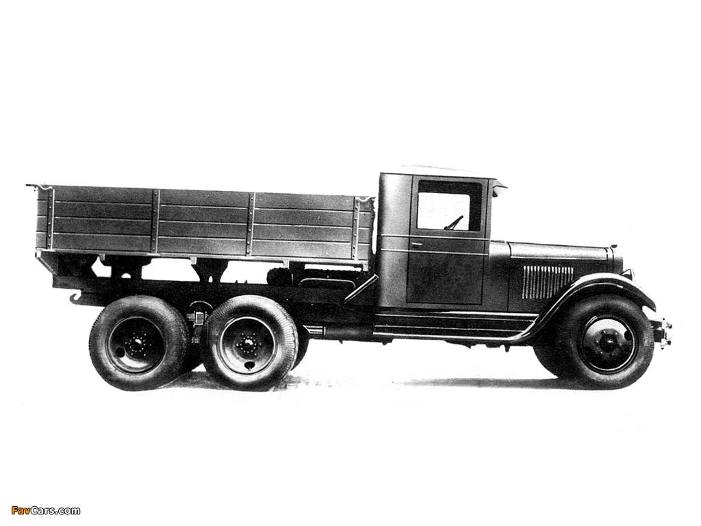 ZiS 6 1933–41 wallpapers (1024 x 768)