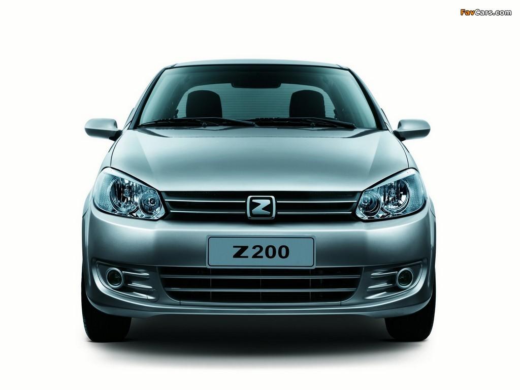 Images of Zotye Z200 2010 (1024 x 768)